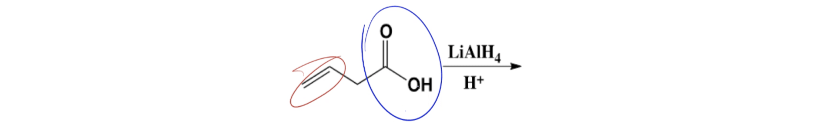 LiAlH4 on Carboxylic Acid