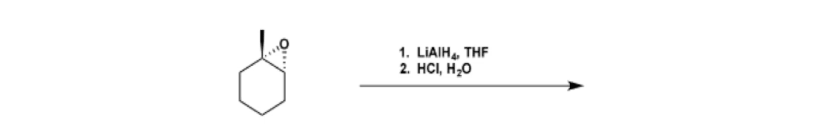 LiAlH4 on Epoxides