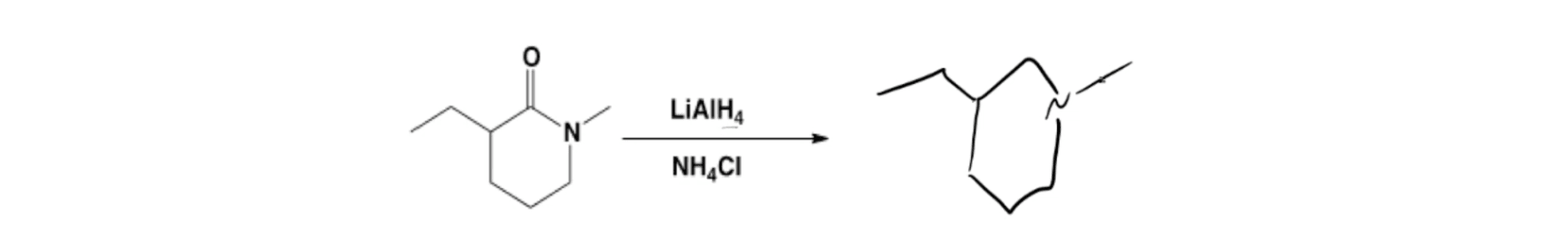 Amines from Amides with LiAlH4