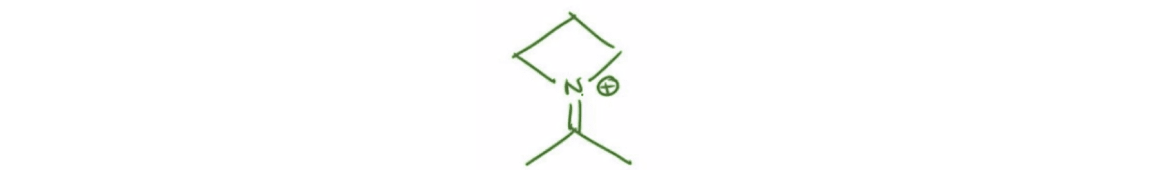 Iminium Cation of an Enamine