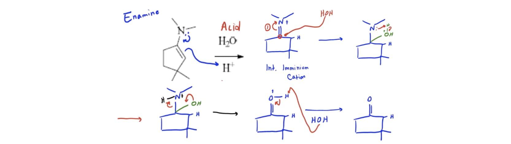 Imine vs Enamine - Organic Chemistry Video | Clutch Prep