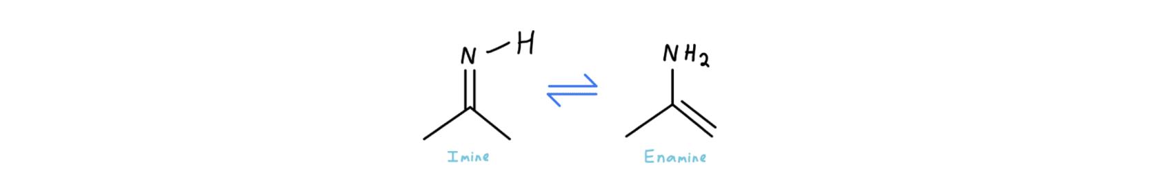 Imine Enamine Tautomerization