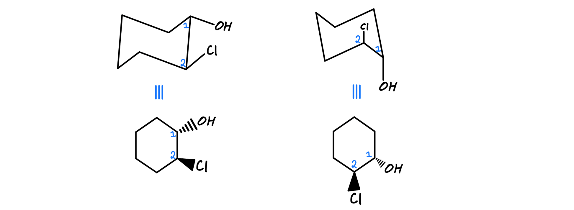 Identical molecules