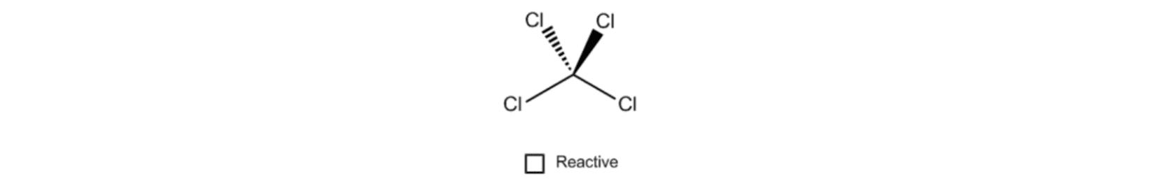 Carbon Tetrachloride Reactivity