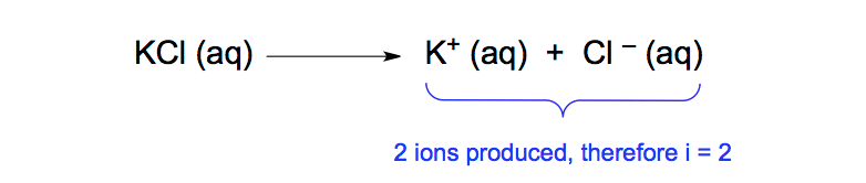Dissociation-KCl-solution-directly-proportional