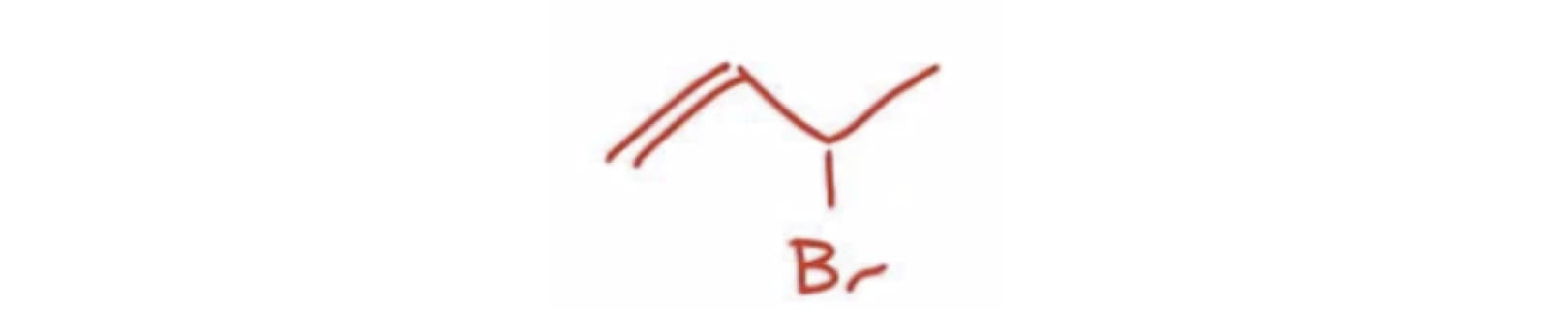 Allylic Bromination Product
