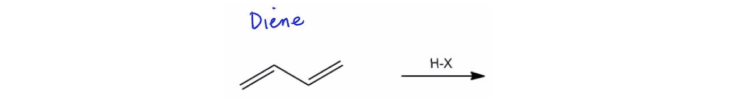Conjugated Hydrohalogenation
