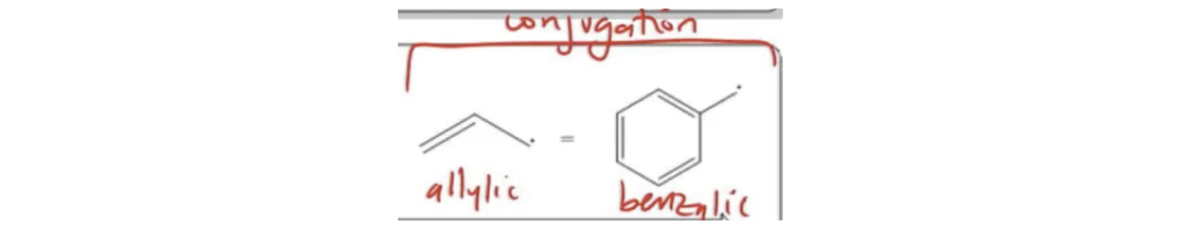Allylic and Benzylic Radicals