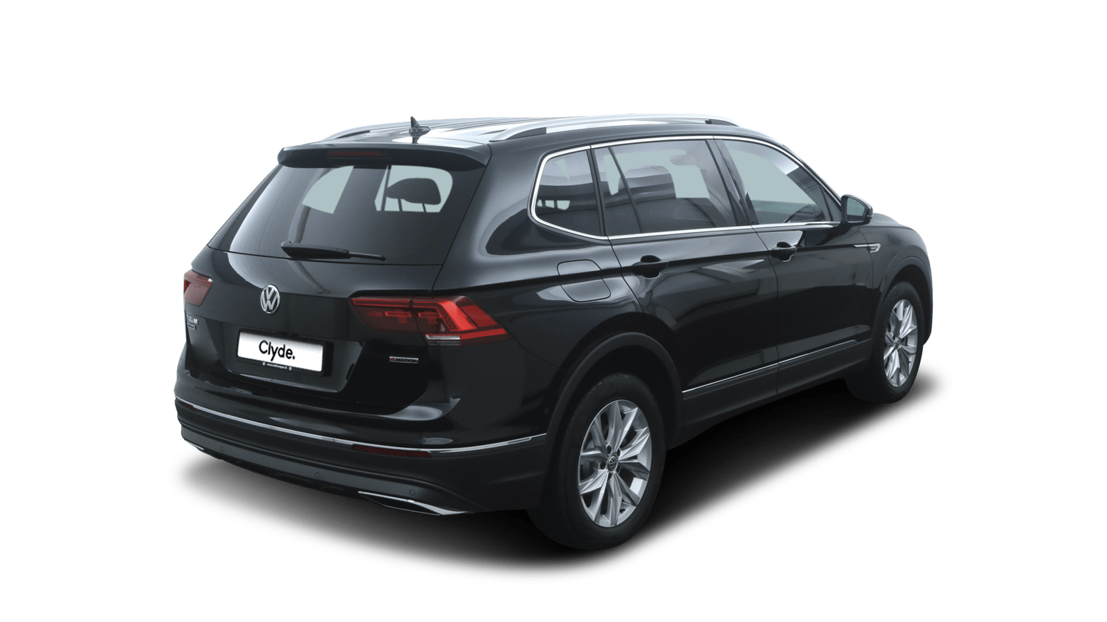 VW Tiguan Allspace Black back - Clyde car subscription
