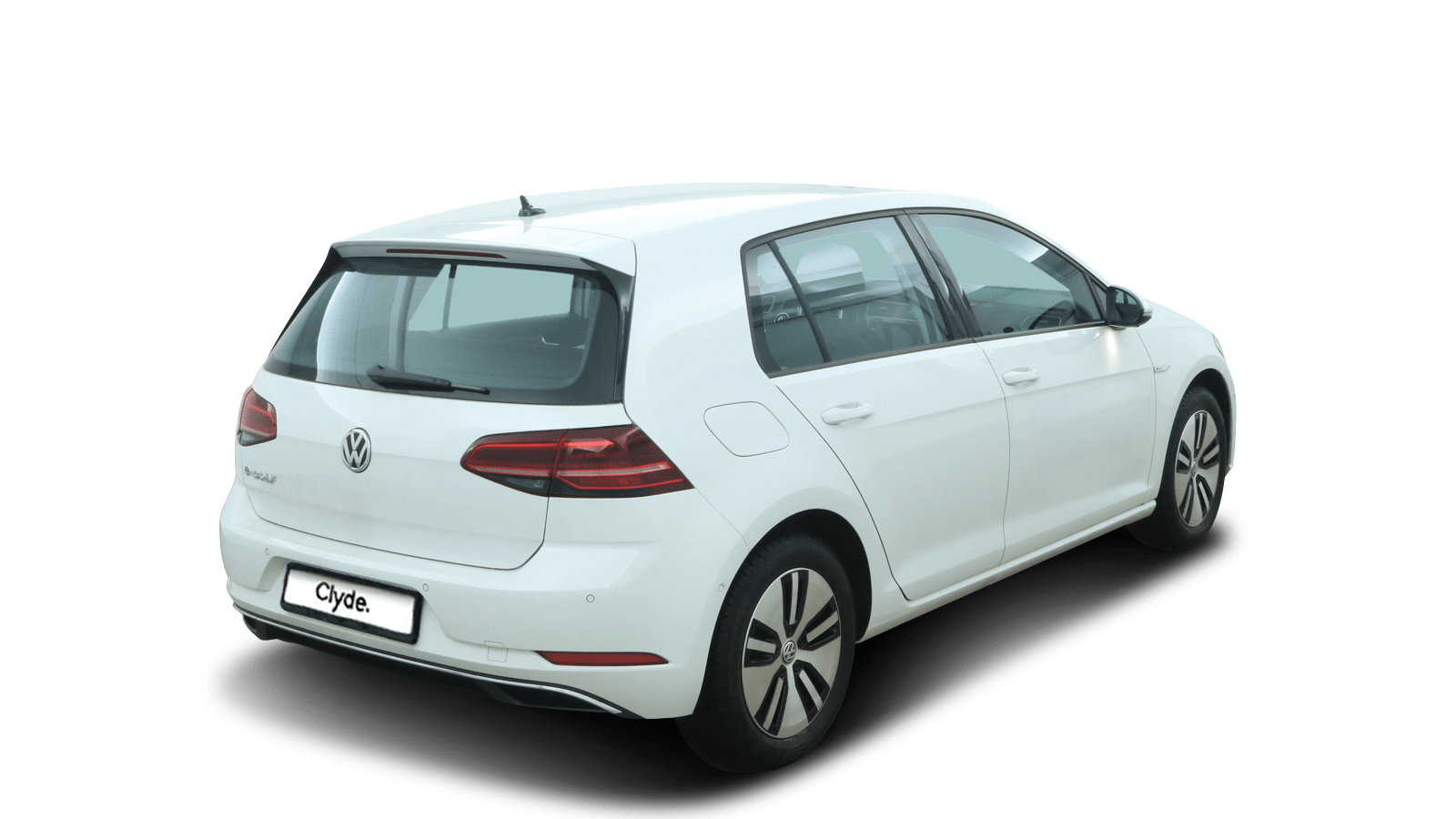 VW e-Golf White back - Clyde car subscription