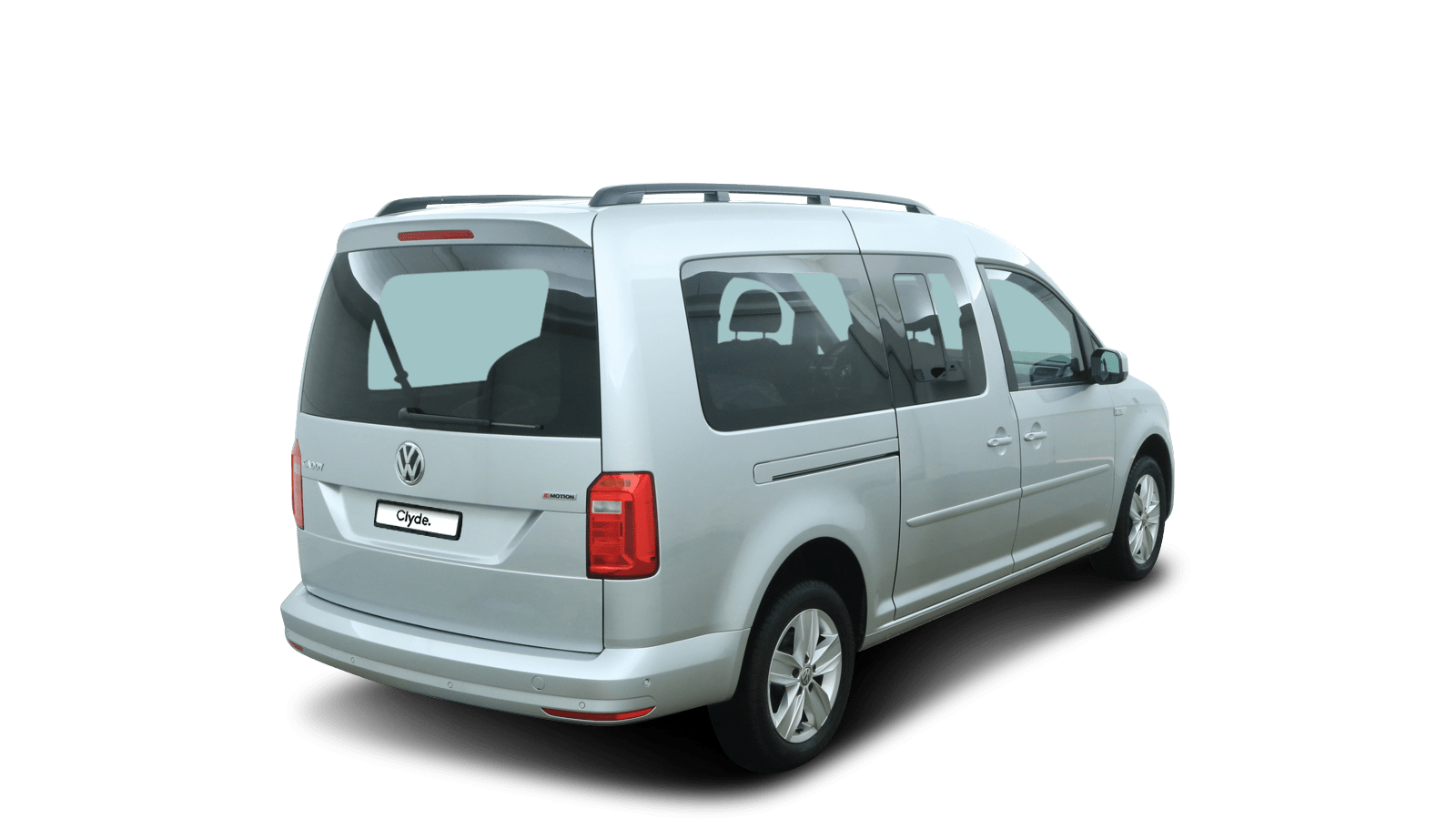 VW NF Caddy Maxi Silver back - Clyde car subscription