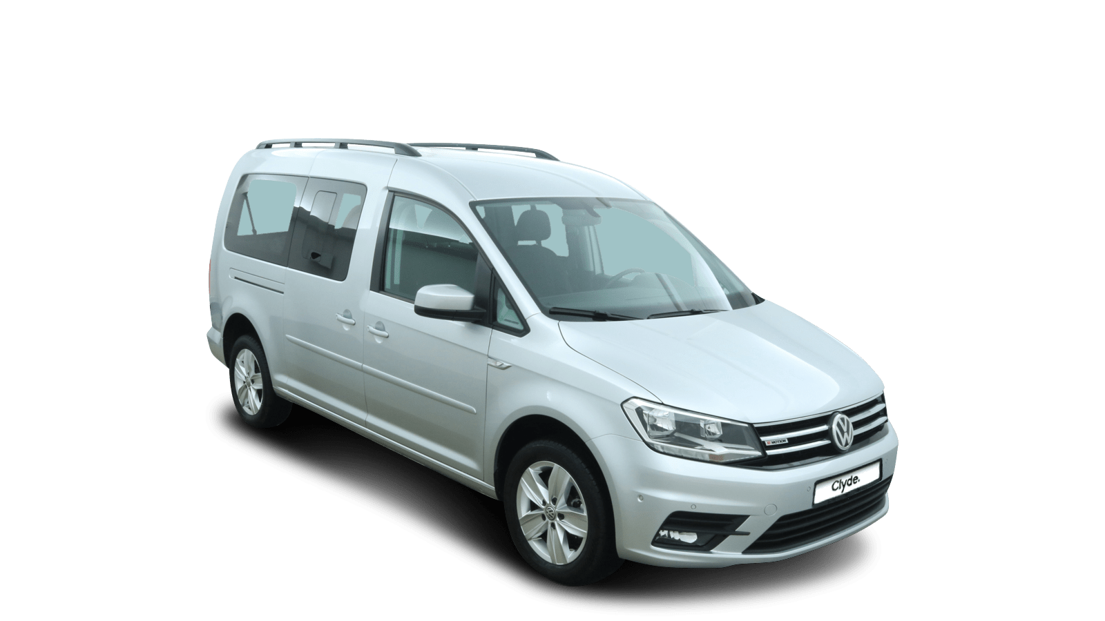 VW NF Caddy Maxi Silver front - Clyde car subscription