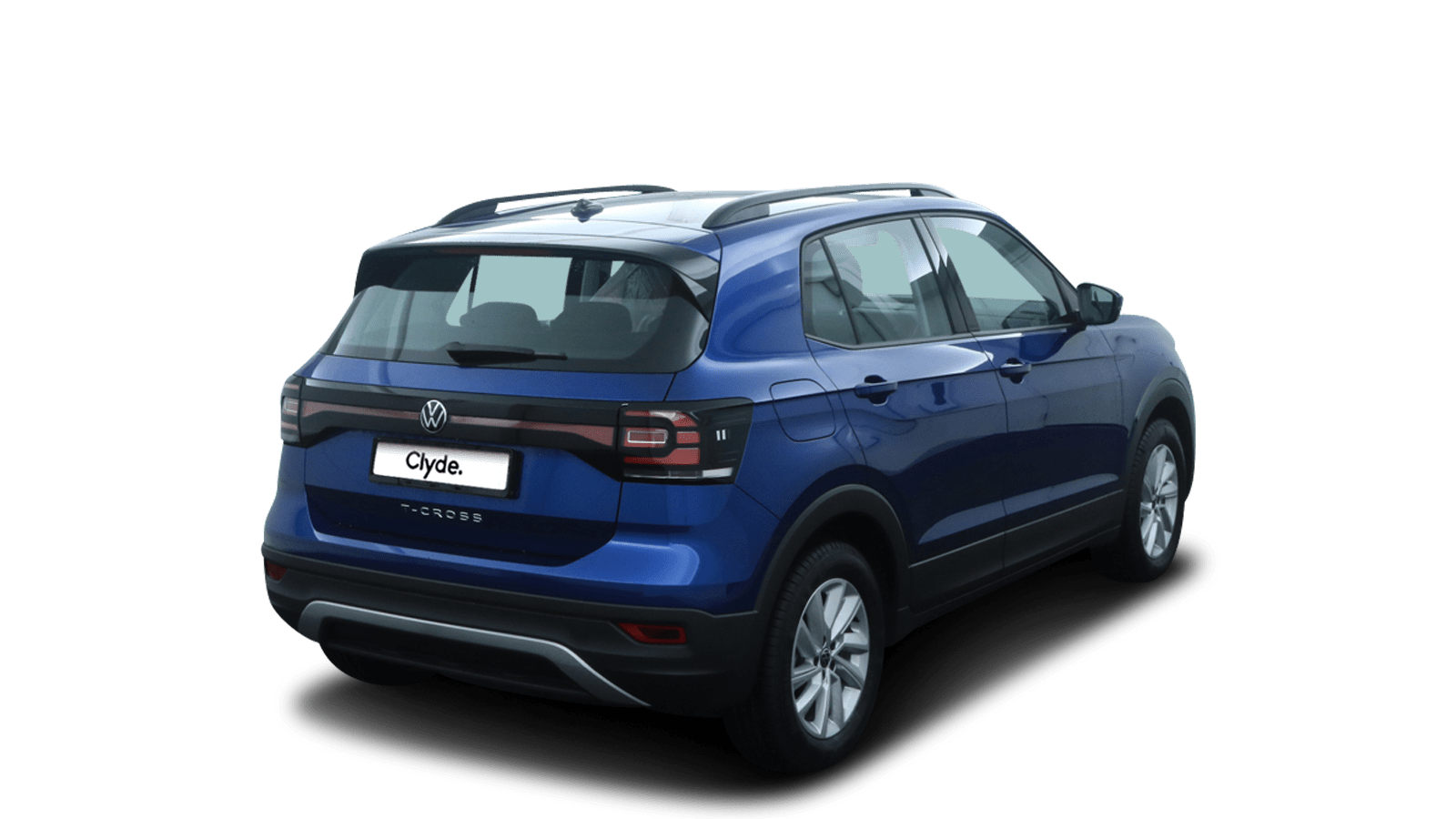 VW T-Cross Blue back - Clyde car subscription