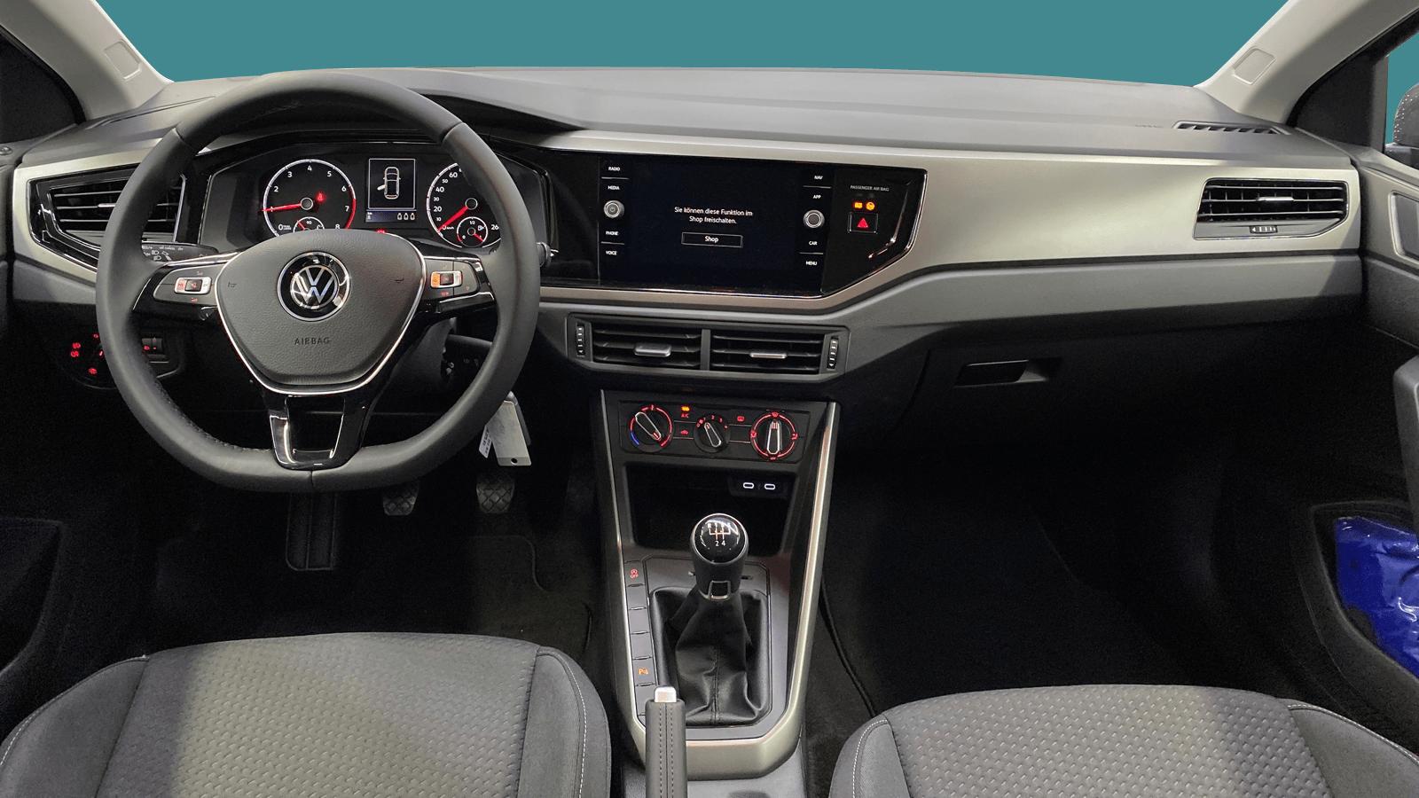 VW Polo Grey interior - Clyde car subscription
