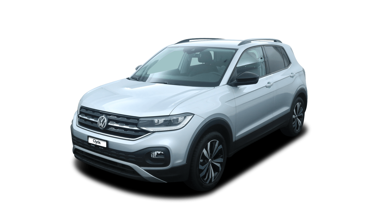 VW T-Cross Silver front - Clyde car subscription
