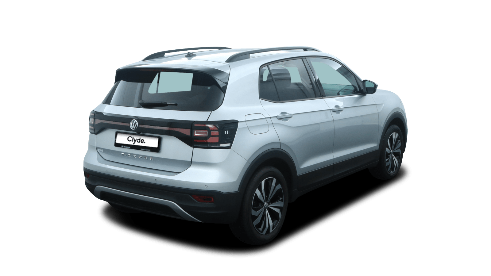 VW T-Cross Silver back - Clyde car subscription