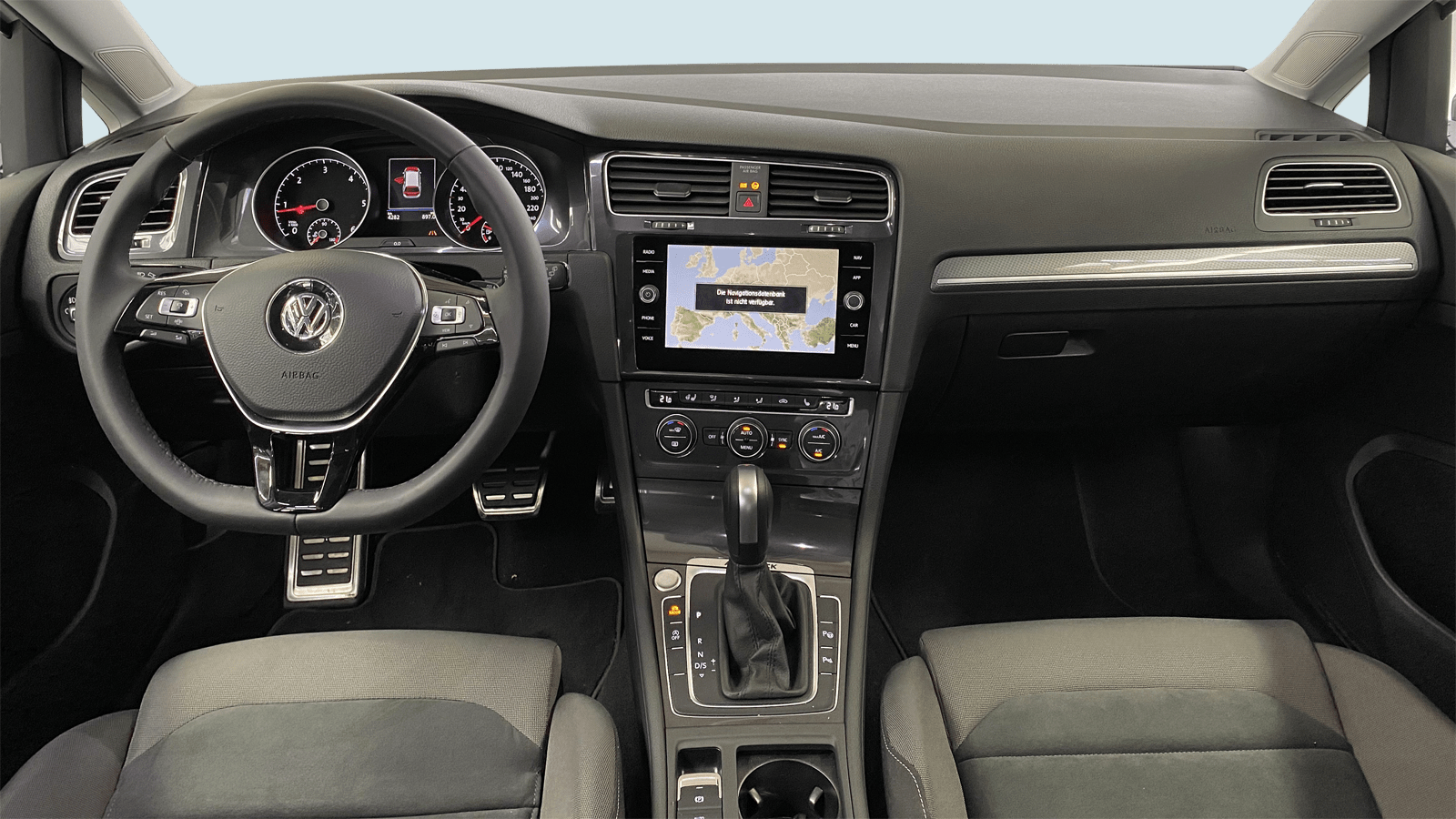 VW Golf Variant Alltrack White interior - Clyde car subscription