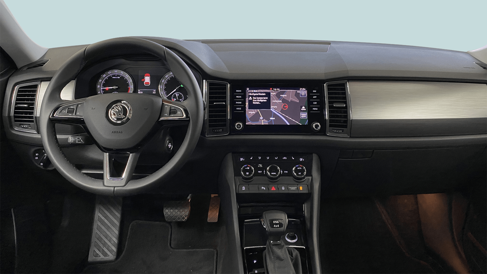 ŠKODA Kodiaq Grau interior - Clyde Auto-Abo