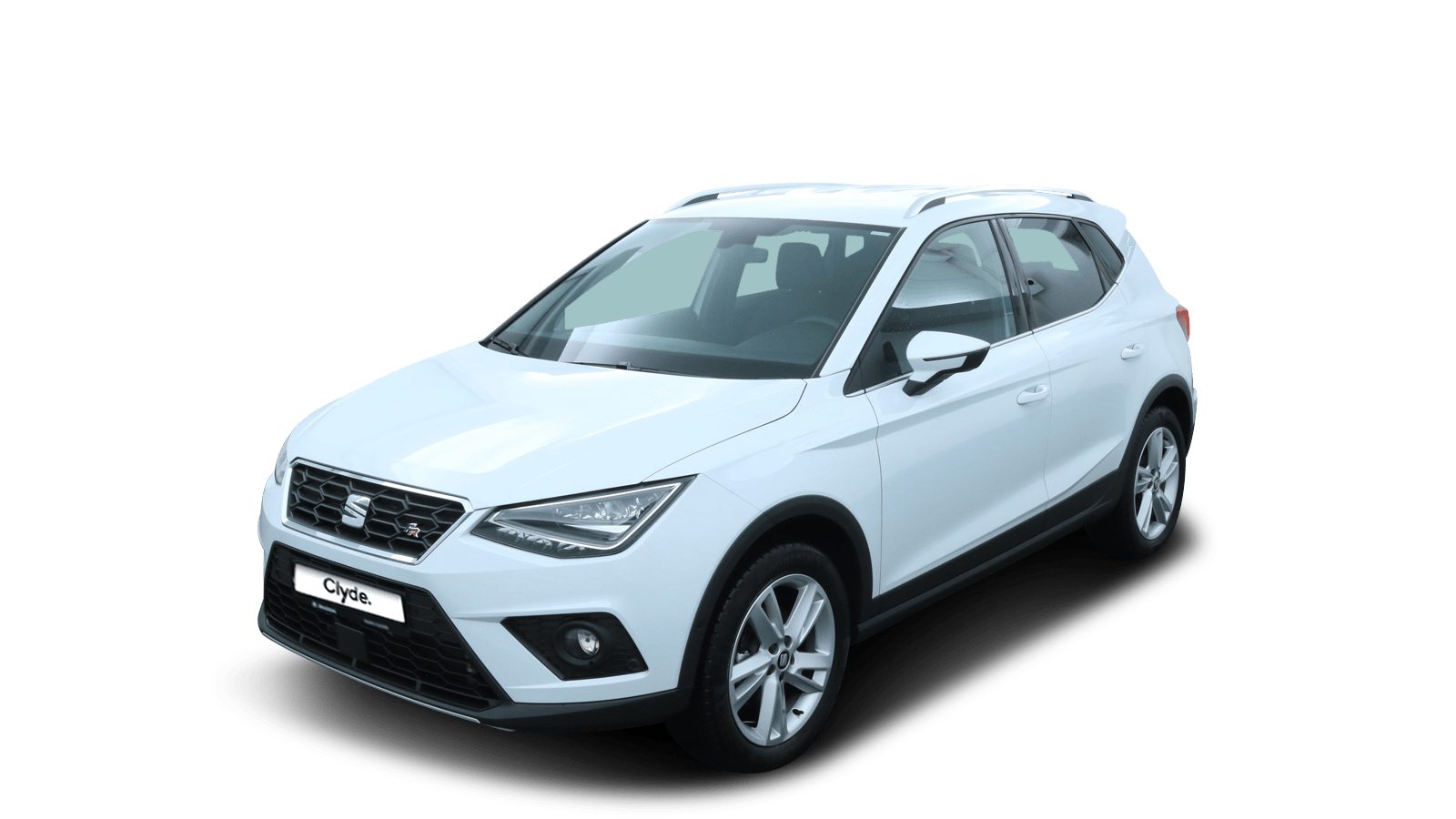 SEAT Arona Weiss front - Clyde Auto-Abo