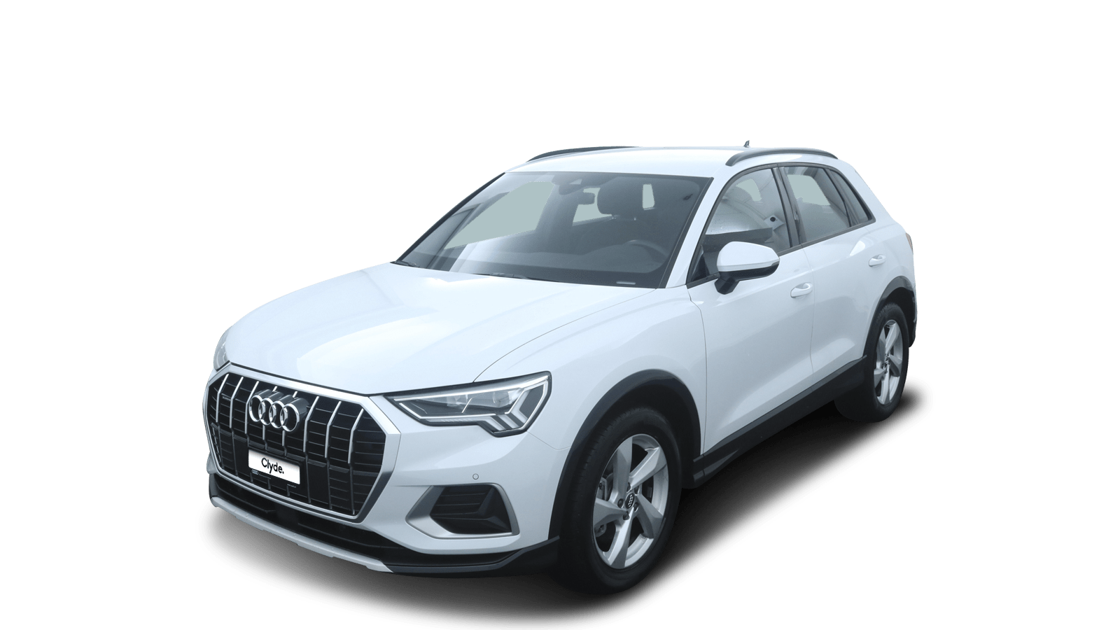 Audi Q3 Weiss front - Clyde Auto-Abo