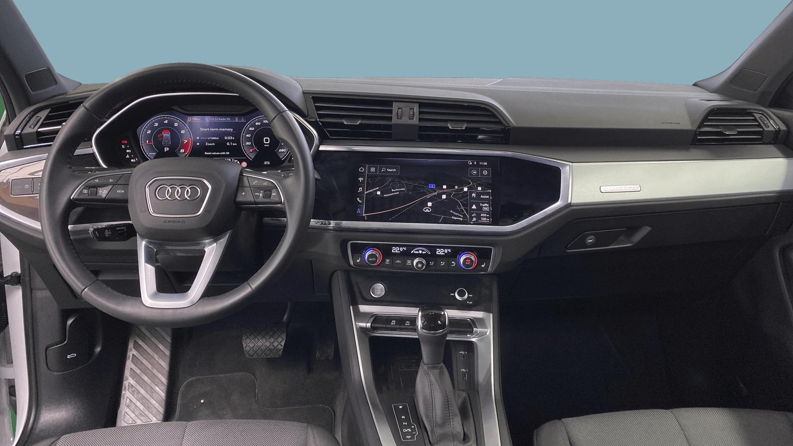 Audi Q3 White interior - Clyde car subscription