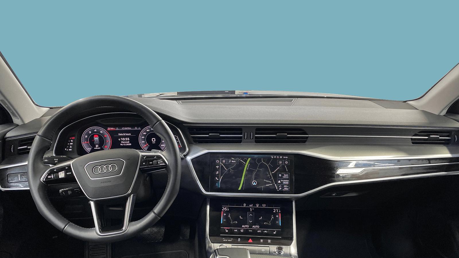 Audi A6 Avant Black interior - Clyde car subscription
