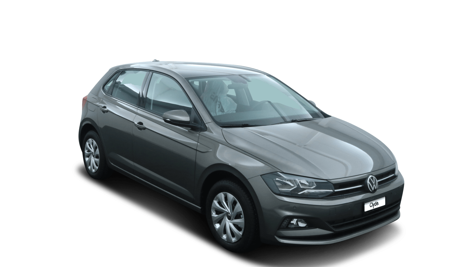 VW Polo Grey front - Clyde car subscription