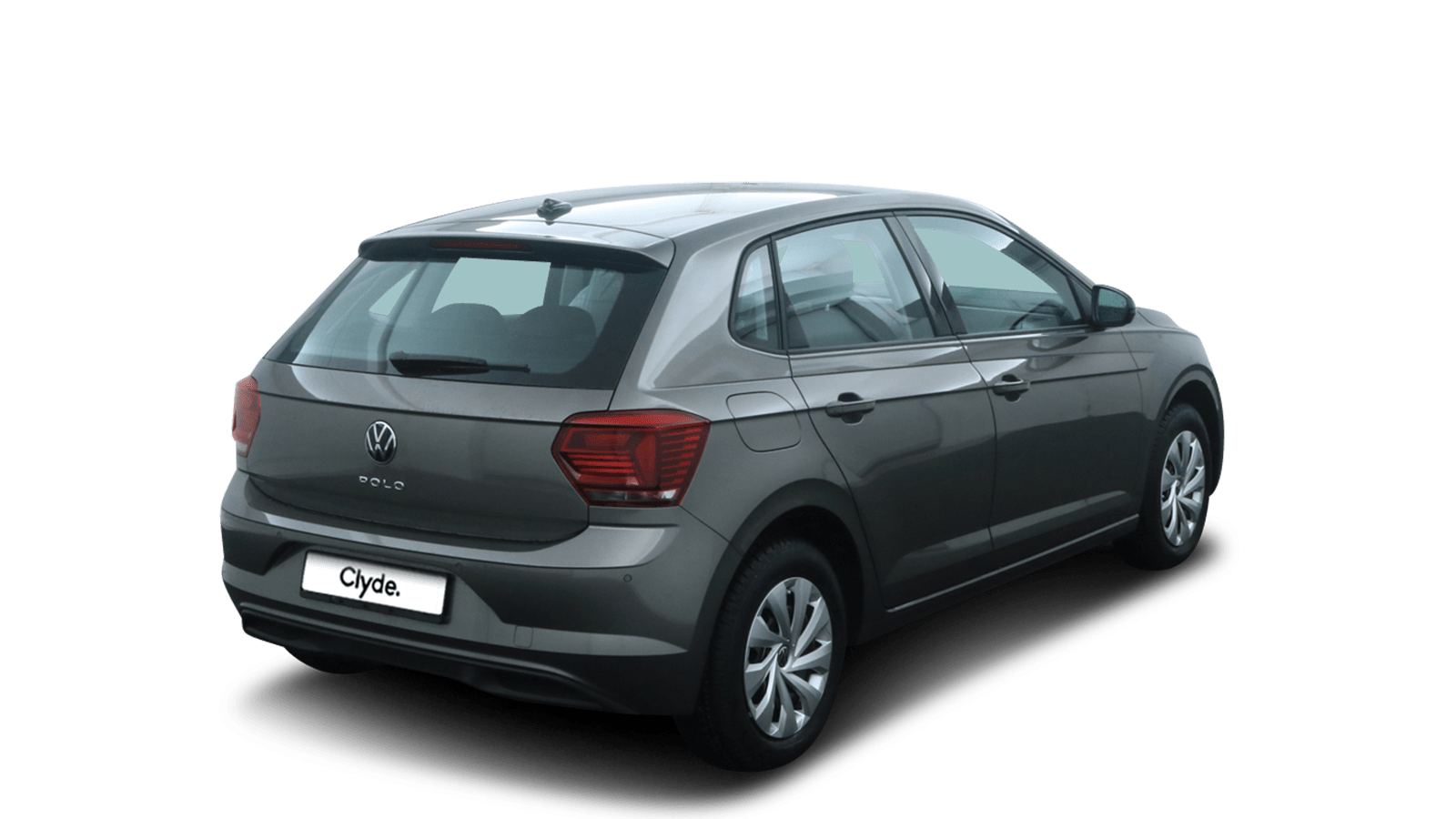VW Polo Grey back - Clyde car subscription