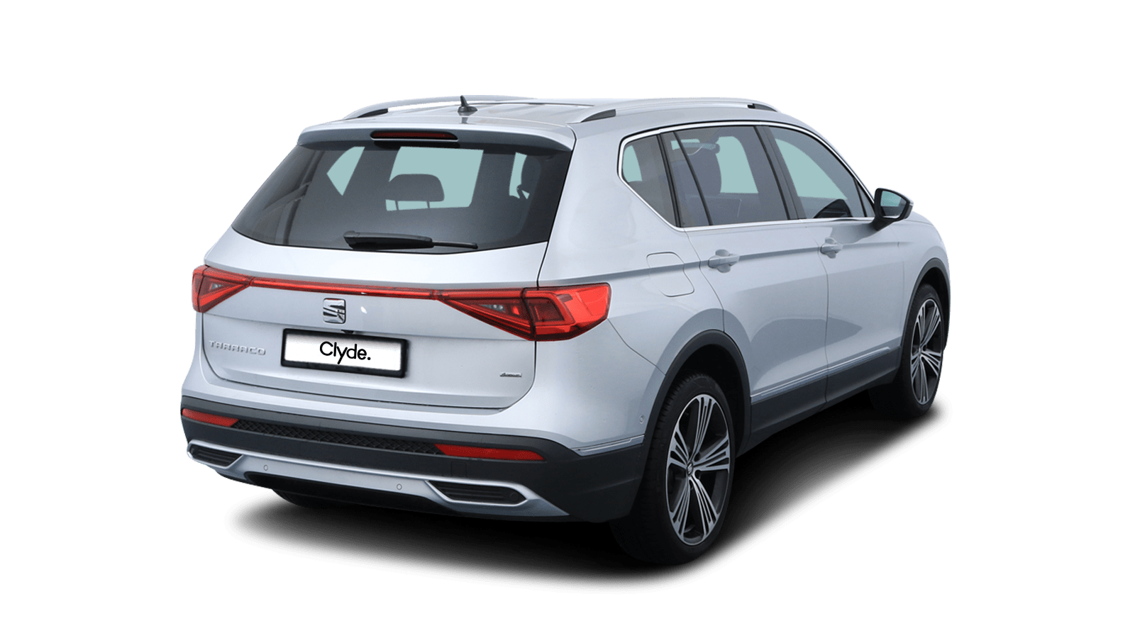 SEAT Tarraco Silver front - Clyde car subscription