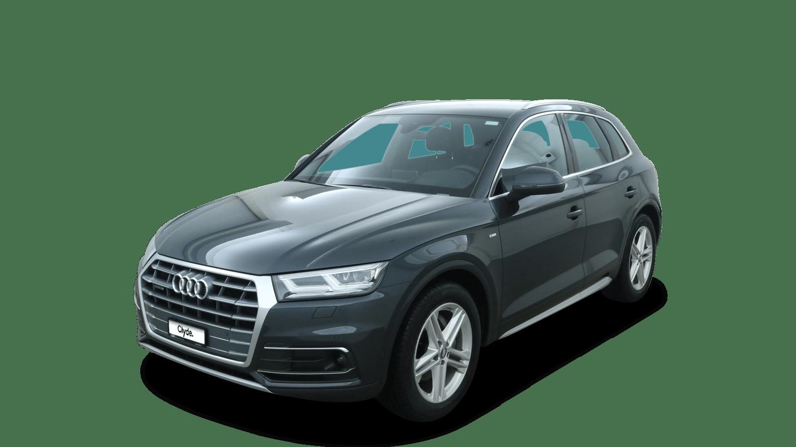 Audi Q5 Grau front - Clyde Auto-Abo