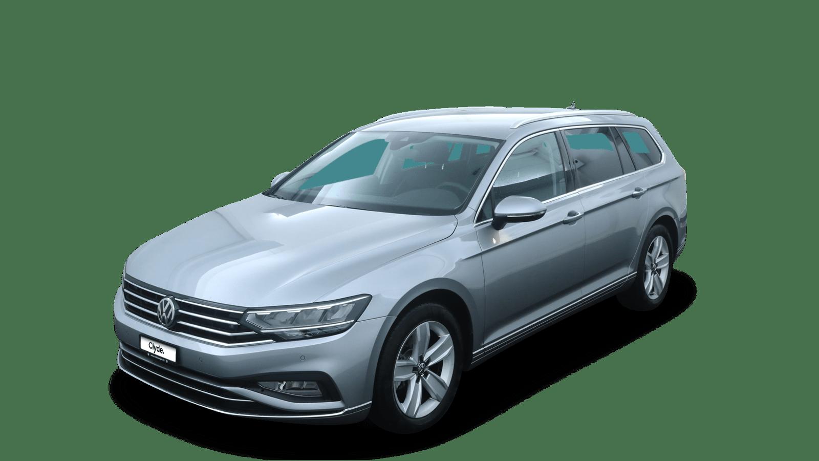 VW Passat Variant Silver front - Clyde car subscription