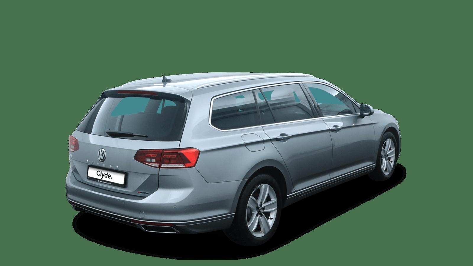 VW Passat Variant Silver back - Clyde car subscription