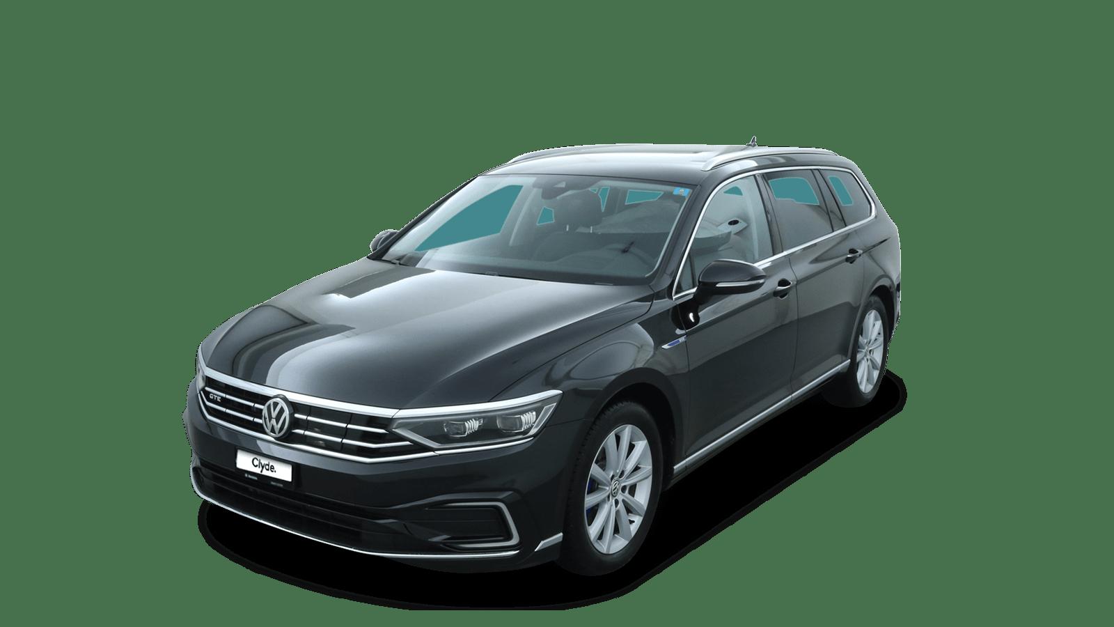VW Passat Variant Black front - Clyde car subscription