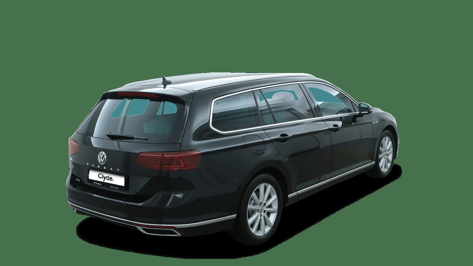 VW Passat Variant Black back - Clyde car subscription