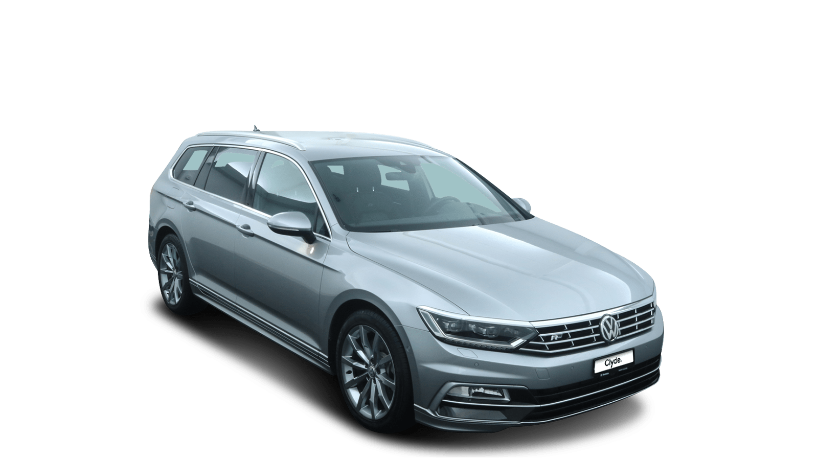 VW Passat Variant Silber front - Clyde Auto-Abo