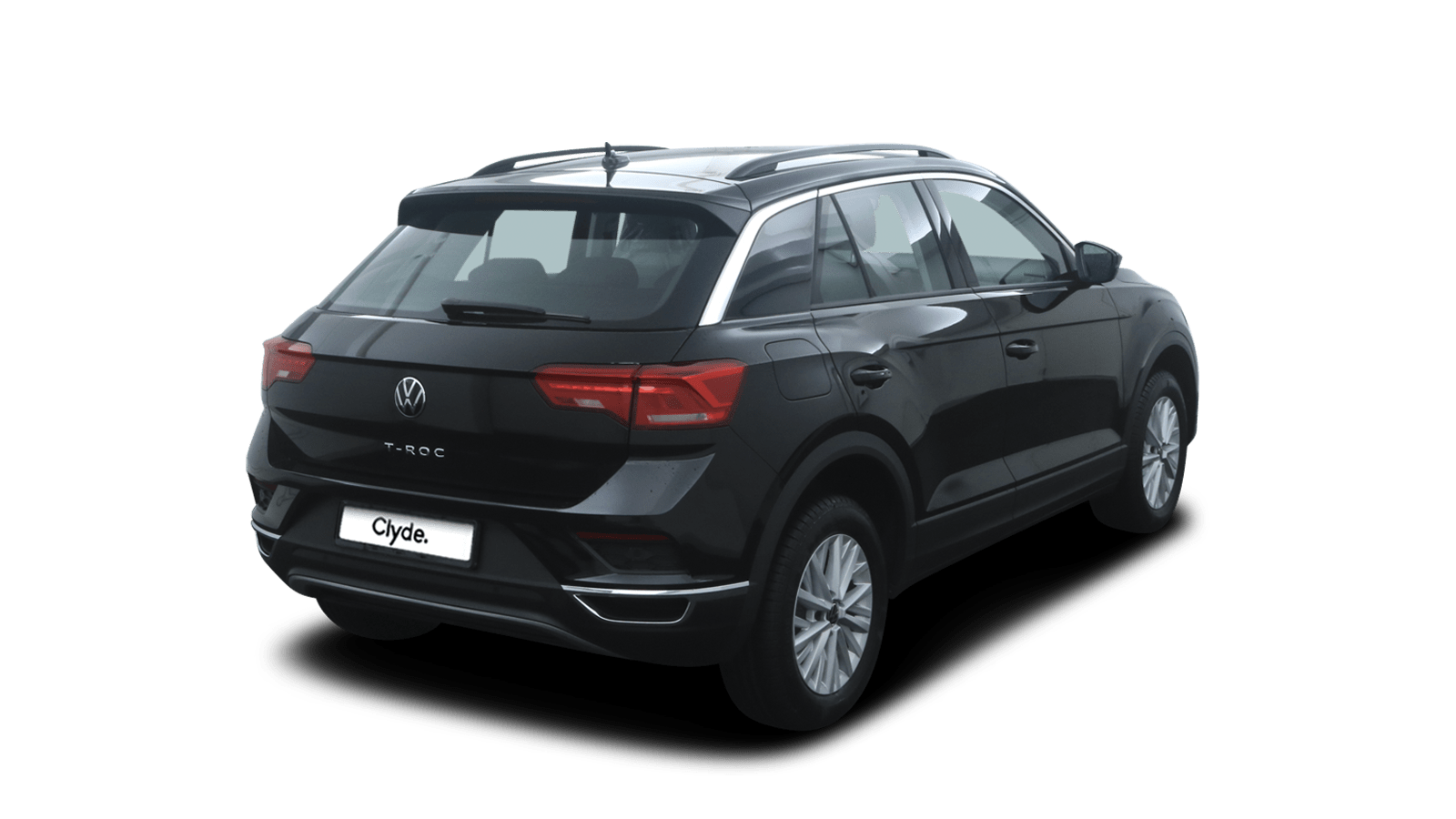 VW T-Roc Black back - Clyde car subscription
