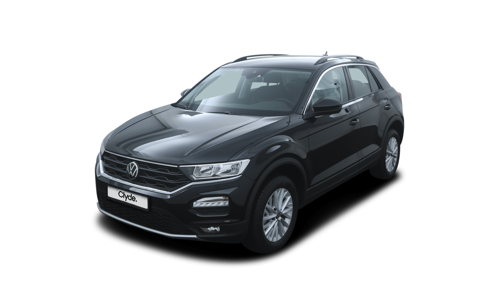 VW T-Roc Black front - Clyde car subscription
