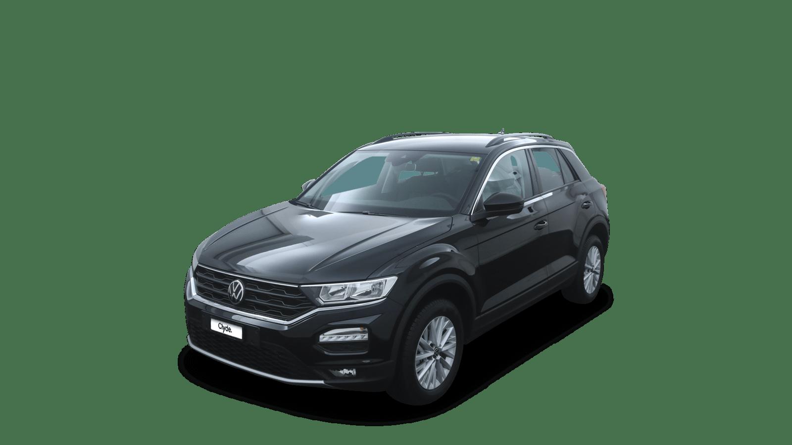 VW T-Roc Black front - Clyde car subscription