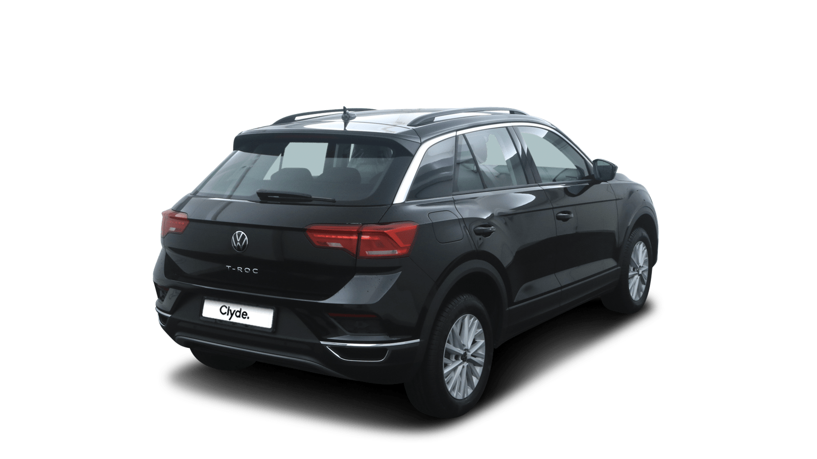 VW T-Roc Black back - Clyde car subscription