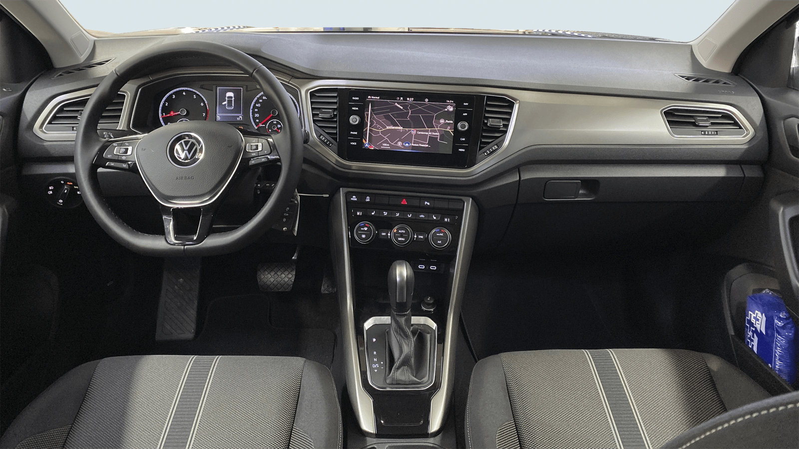 VW T-Roc Black interior - Clyde car subscription