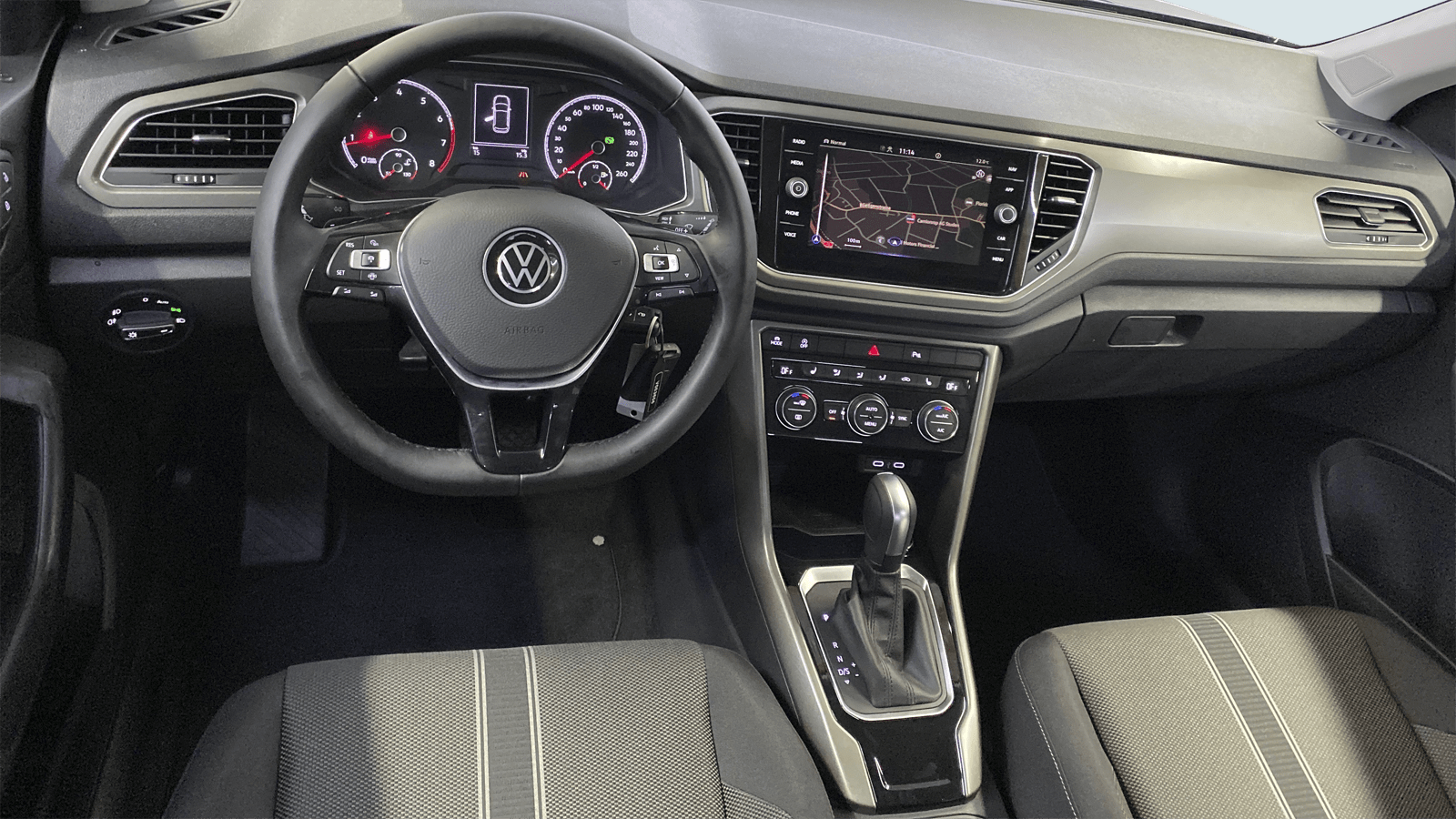 VW T-Roc Grey interior - Clyde car subscription