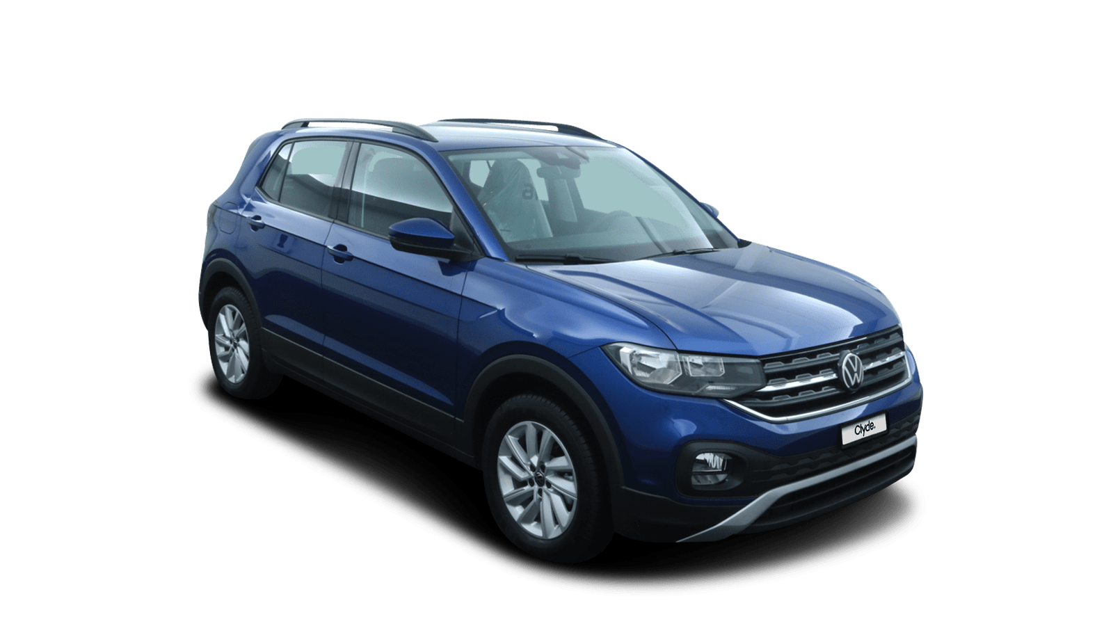 VW T-Cross Blue front - Clyde car subscription