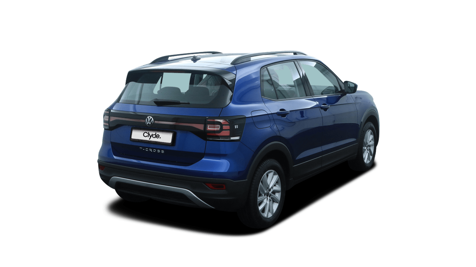 VW T-Cross Blue back - Clyde car subscription