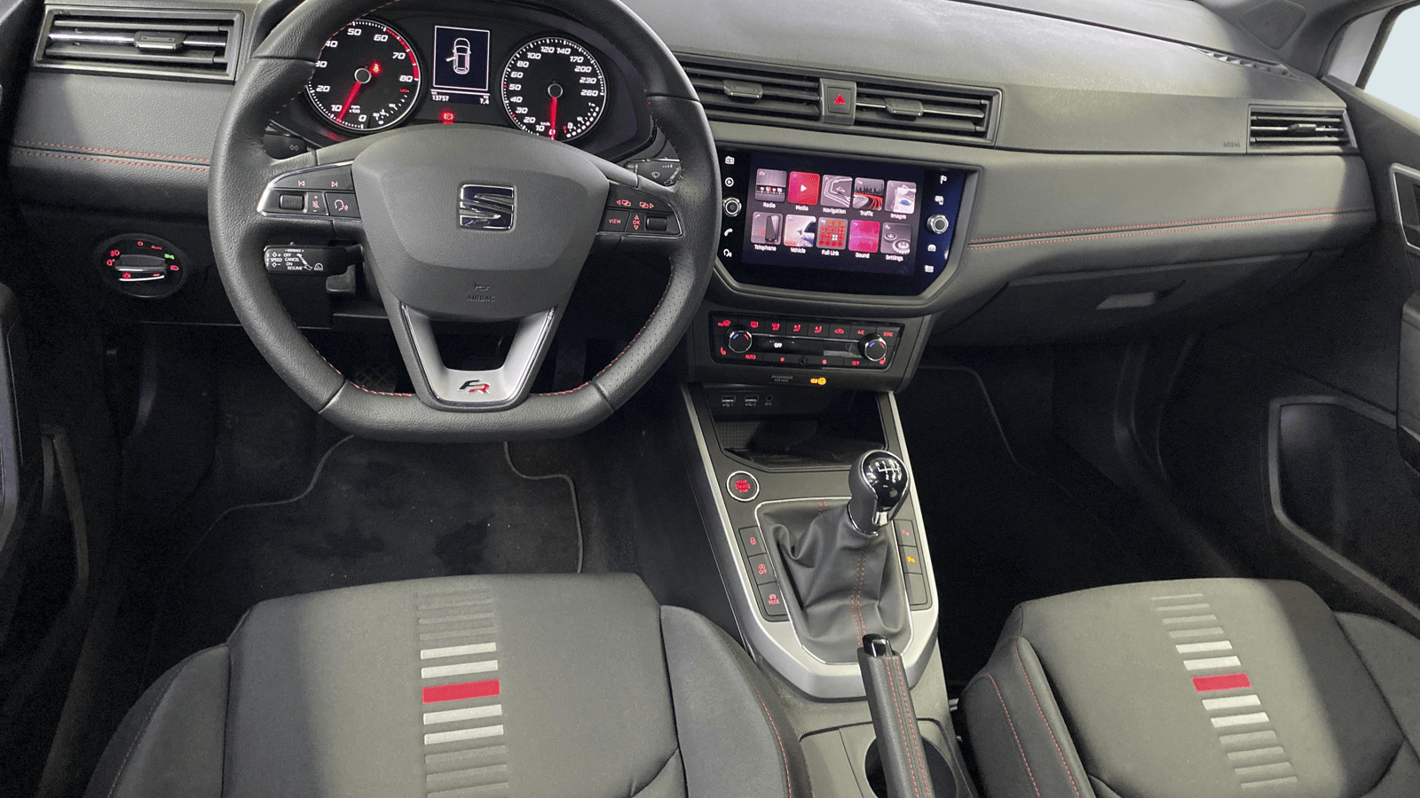 SEAT Arona Weiss interior - Clyde Auto-Abo