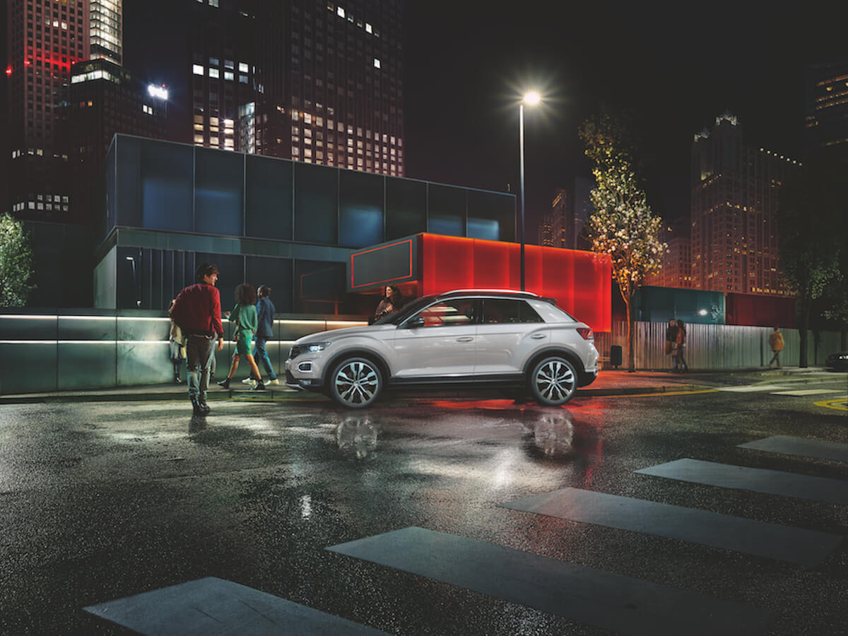 The new VW T-Roc with the car subscription from Clyde
