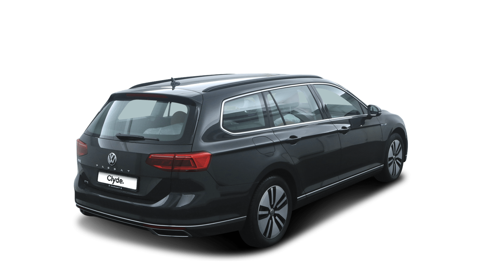 VW Passat Variant GTE Grey back - Clyde car subscription