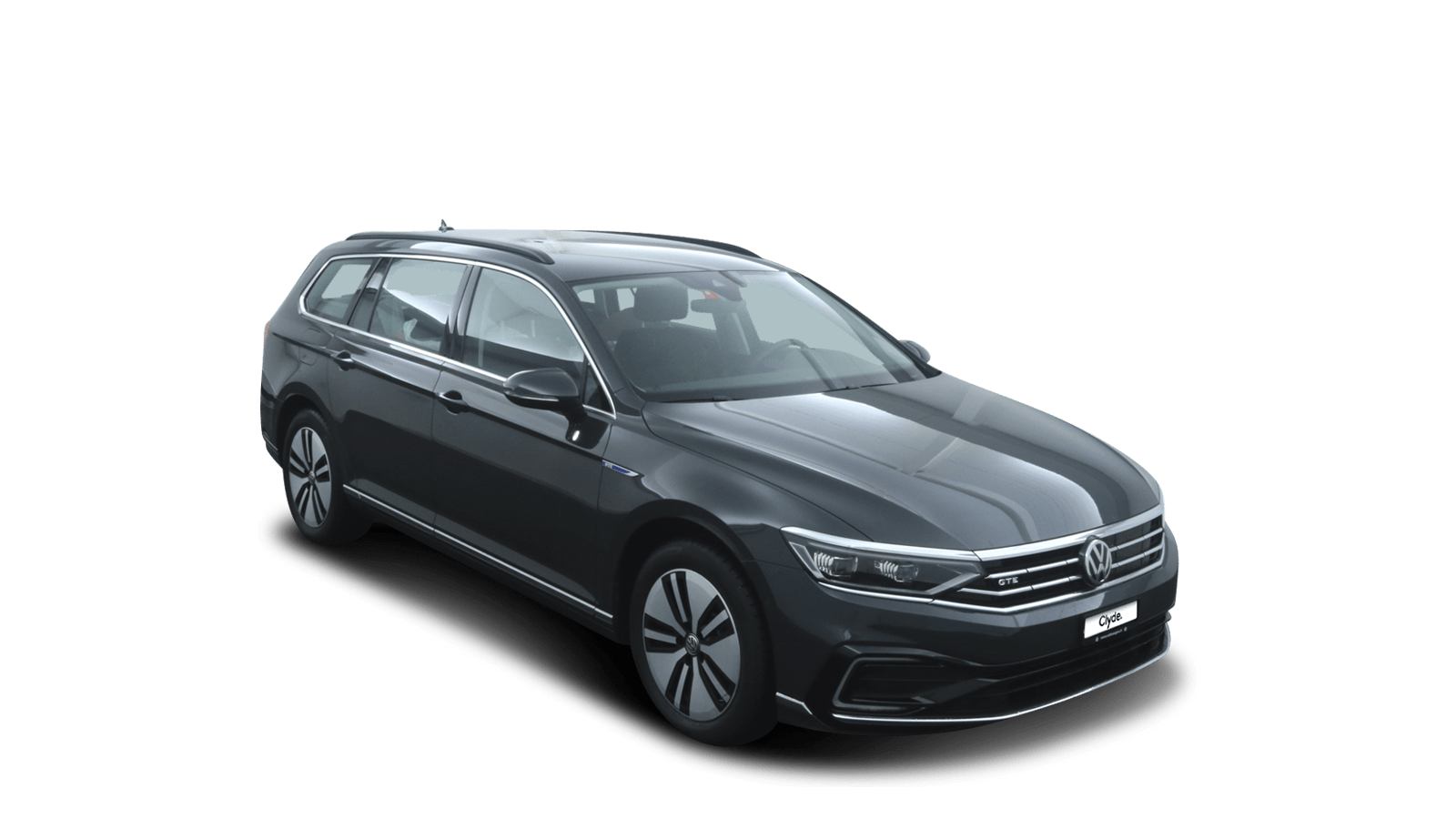 VW Passat Variant GTE Grey front - Clyde car subscription
