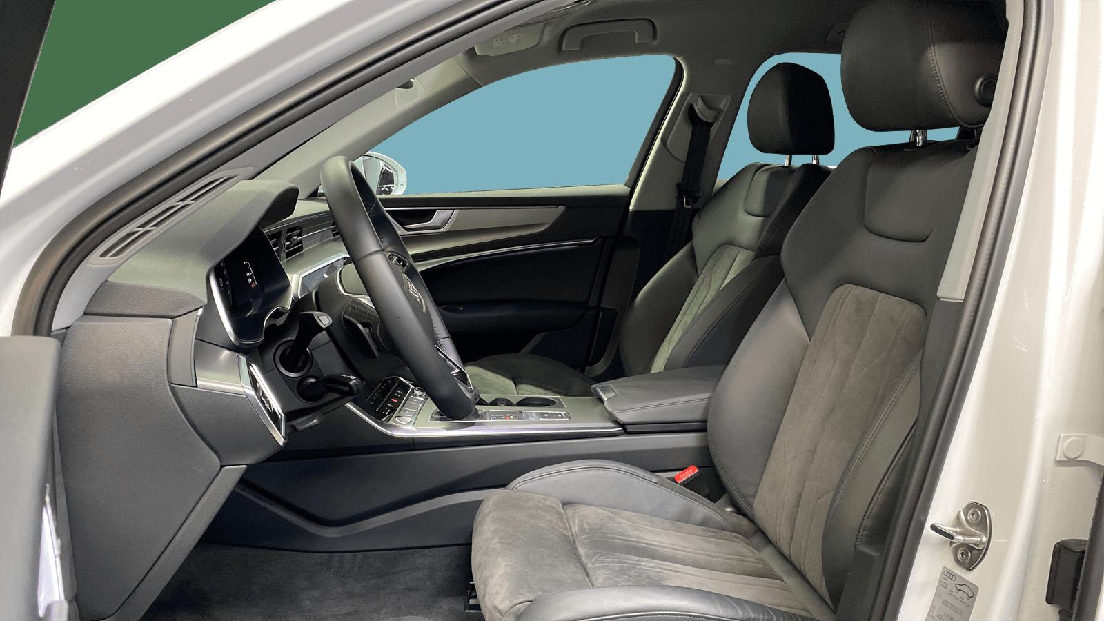 Audi A6 Avant White interior - Clyde car subscription