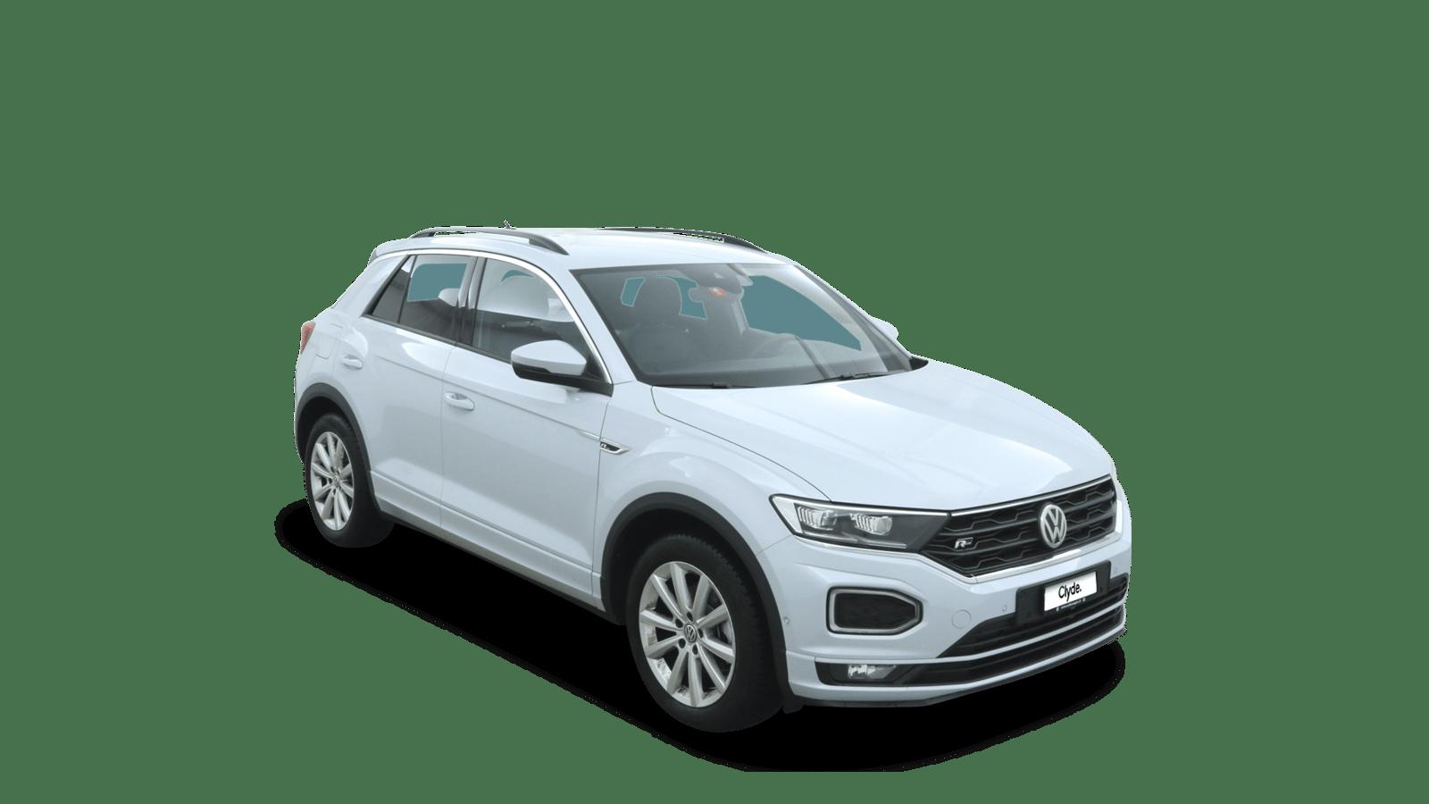 VW T-Roc White front - Clyde car subscription