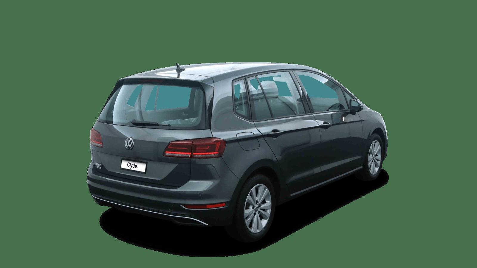 VW Golf Sportsvan Grey back - Clyde car subscription